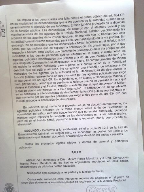 Sentencia judicial por parar el tranvía. Santa Cruz de Tenerife.