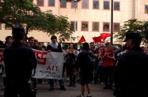 ;anifestación de estudiantes IES y ULL Tenerife. LOMCE.